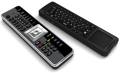 IR & 2.4G RF Remote Control With Audio & T/P Mouse & Keyboard (SRC-4408)