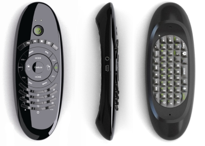 IR & 2.4G RF Remote Control With Audio & Keyboard & Air Mouse